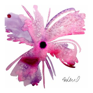 Botanical Flower Giclee Print For Sale