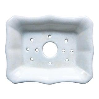 Ironstone Early English Soap Dish