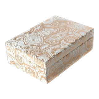 Curated Kravet Serafina Box For Sale