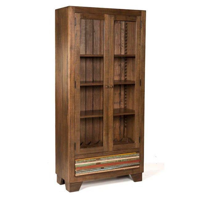Craftsmanship at its finest!!! Expand your storage options with this dazzling piece! Made from solid reclaimed peroba...