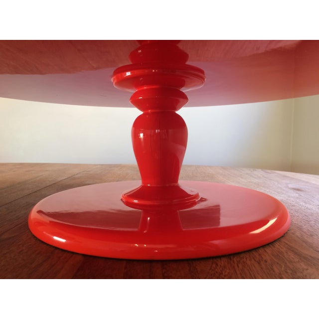Serena & Lily Flame Pedestal Tray - Image 5 of 10