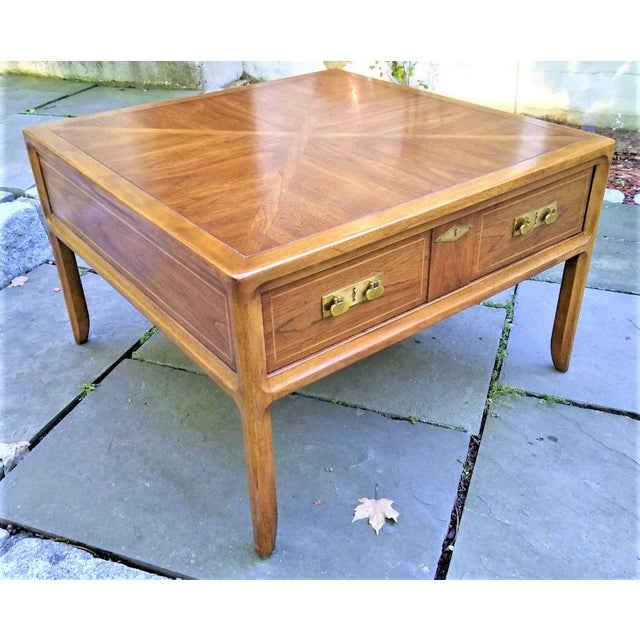 Mid-Century Mastercraft End Table For Sale - Image 9 of 11