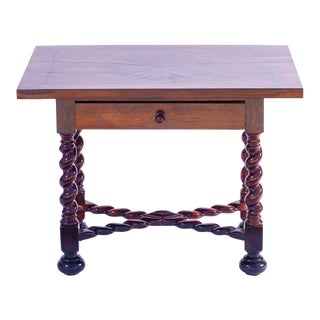 19th C. Portuguese Rosewood Table For Sale