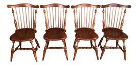 Image of English Windsor Chairs