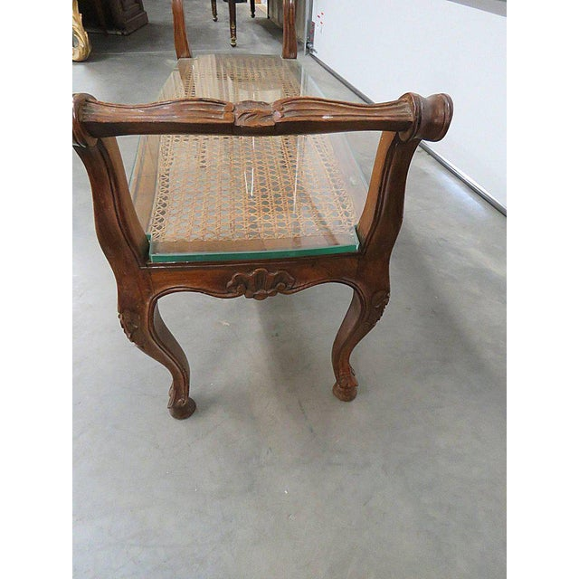 1950s Regency Style Coffee Table For Sale - Image 5 of 6