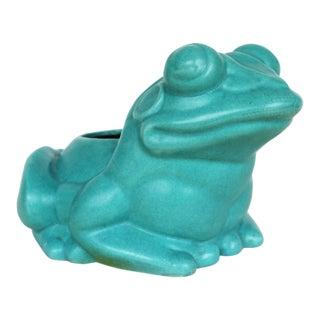 1950s Vintage Mid Century Modern Large Frog Planter For Sale