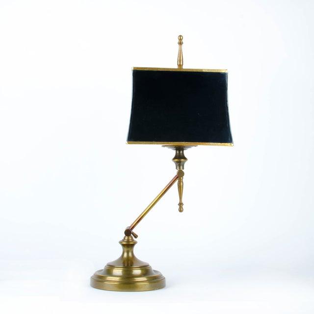 Ethan Allen Articulating Brass Lamp - Image 3 of 11