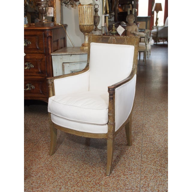 Late 18th Century French Empire Bergere - Image 2 of 9