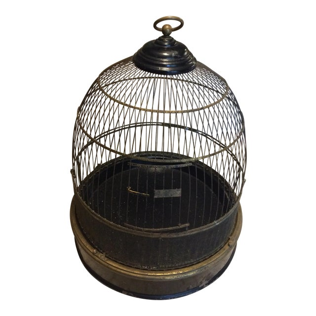 Vintage Bird Cage - Image 1 of 4
