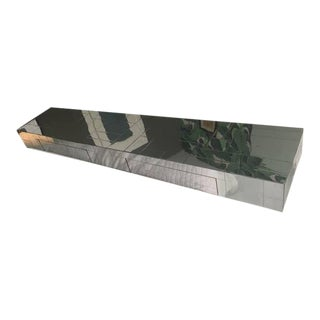 Paul Evans Cityscape Chrome Wall Mounted Console