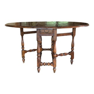 """Theodore Alexander Castle Bromwich Dining Table - 58x37"""" For Sale"""