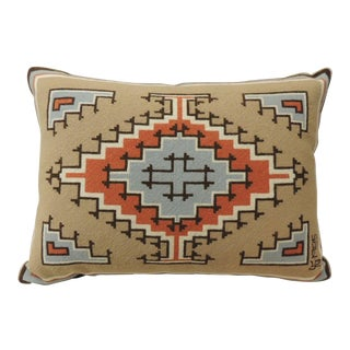 Vintage South Western Tapestry Decorative Pillow For Sale