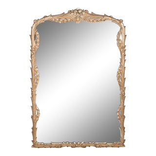 Giltwood Frame Mantel / Fireplace Wall Mirror For Sale