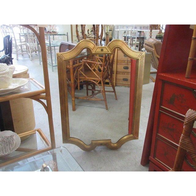 Gold Gilt Hollywood Regency Mirror - Image 7 of 7