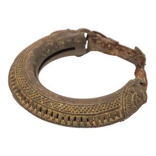 Cast Bronze Tribal Bell Camel Anklet For Sale
