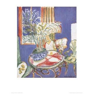 "Henri Matisse ""Petit Interieur Bleu"" Poster"