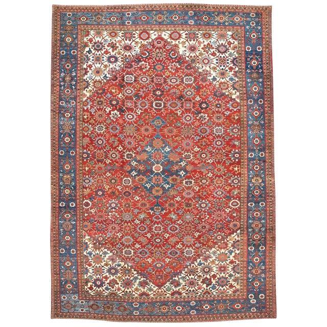 """""""Mina Khani"""" Design Serapi Carpet For Sale"""