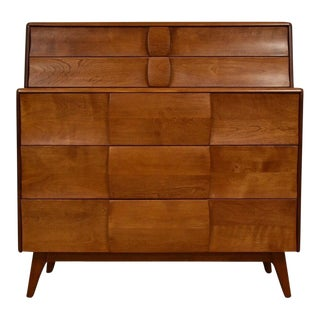 Heywood Wakefield Kohinoor Tall Dresser For Sale