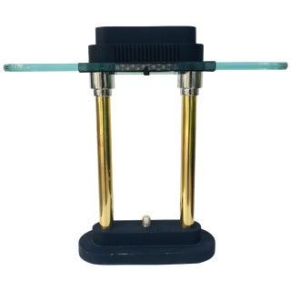 Postmodern Halogen Desk Table Lamp by Robert Sonneman for George Kovacs, 1980s For Sale