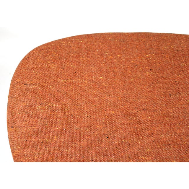 Orange Museum Quality Early Coconut Chair & Ottoman by George Nelson for Herman Miller For Sale - Image 8 of 10