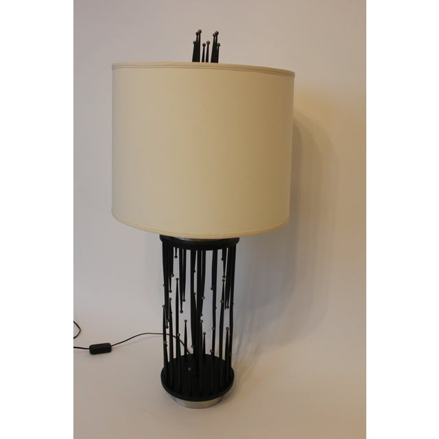 Italian 1960's Italian Stalagmite/Stalactite Table Lamps - A Pair For Sale - Image 3 of 7