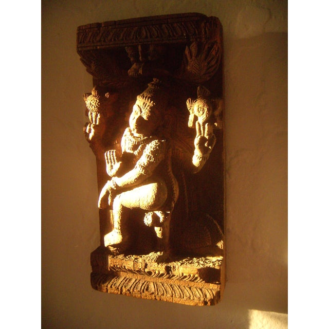 Antique Indian Goddess Wall Hanging - Image 10 of 10