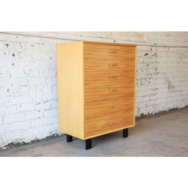 Mid-Century Modern George Nelson for Herman Miller Highboy Dresser For Sale - Image 3 of 13