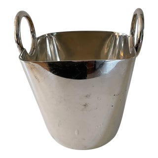 Italian Ice Bucket With Tongs For Sale