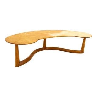 John Widdicomb Mid Century Bio-Morphic Coffee Table For Sale