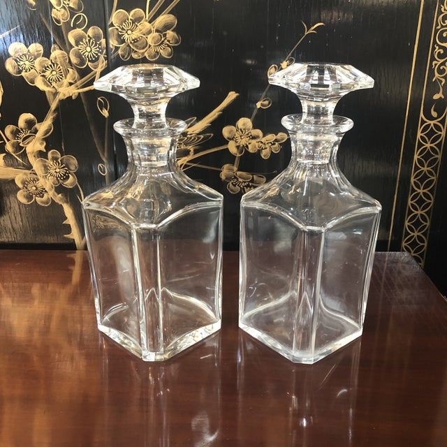 Baccarat Baccarat Crystal Decanter For Sale - Image 4 of 10