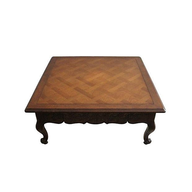 Drexel Heritage Parquetry Coffee Table - Image 4 of 4