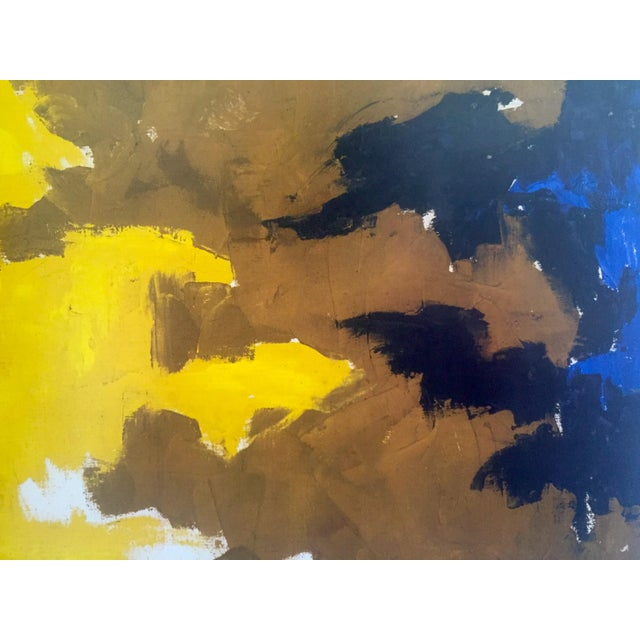 """Clyfford Still Abstract Expressionst Offset Lithograph Print Museum Poster """" Ph - 321 """" 1948 For Sale - Image 9 of 13"""