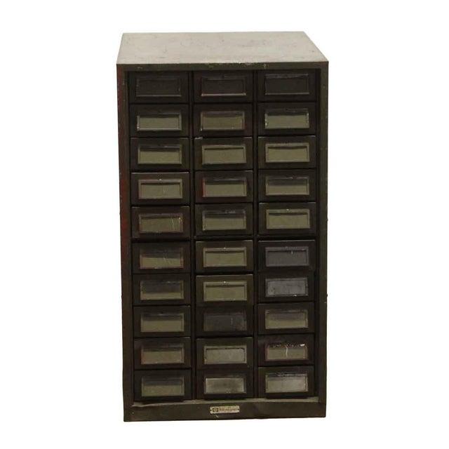 Vintage Addressograph Filing Cabinet For Sale - Image 9 of 9