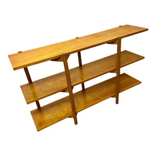 Vintage Milo Baughman Bookcase Shelving Unit Console by Glenn of California Mid Century Modern For Sale