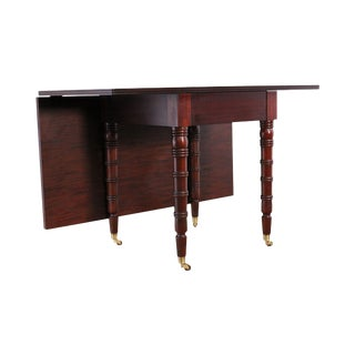 Hickory Chair Christiansen Mahogany Table / Dining Table For Sale
