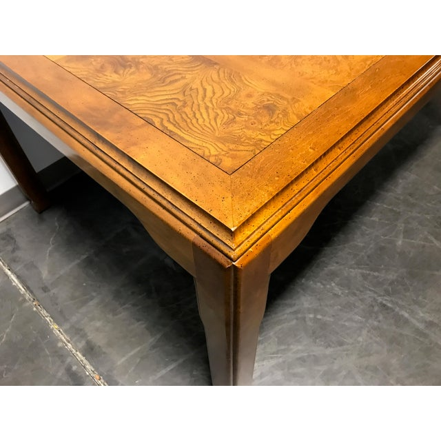Century Furniture CENTURY Chin Hua by Raymond K Sobota Asian Chinoiserie Dining Table For Sale - Image 4 of 11