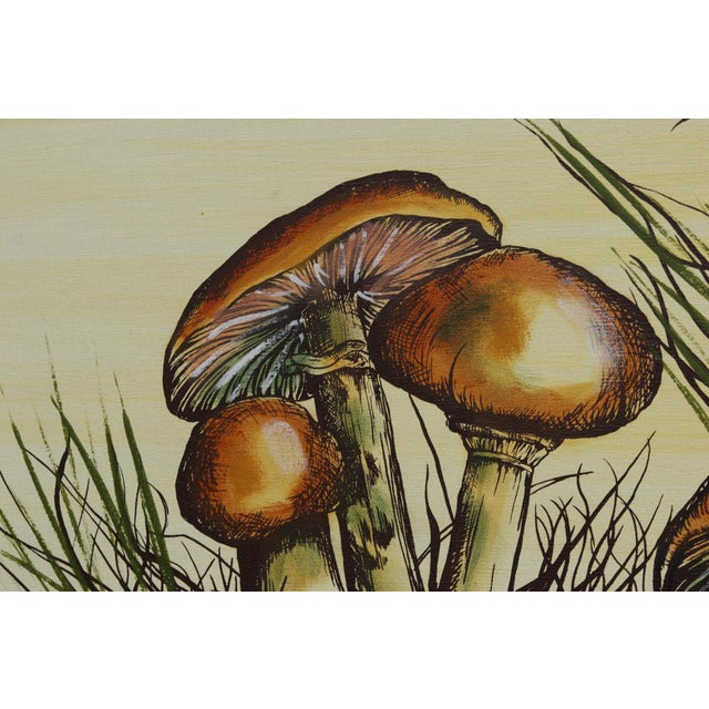J. Walker Mushrooms Painting For Sale - Image 4 of 7
