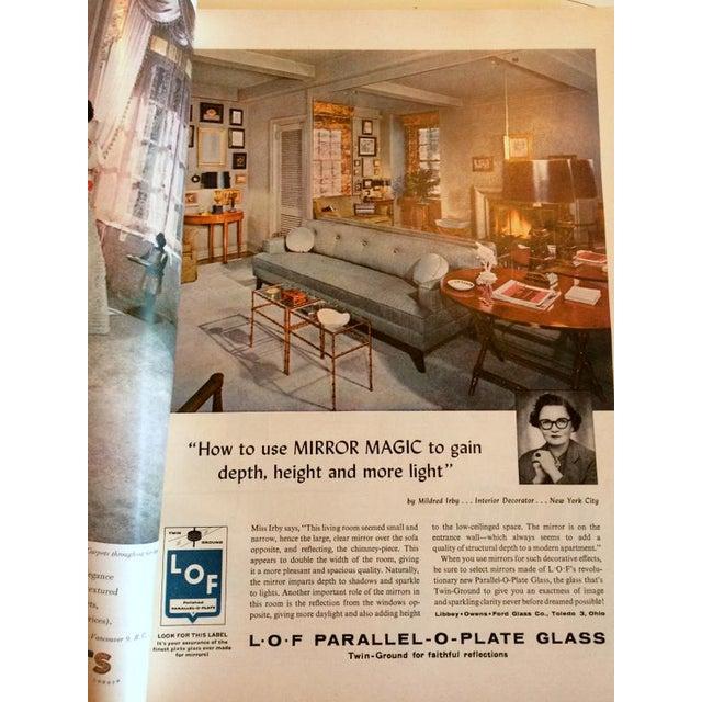 1954 House Beautiful Mid Century Modern Decorating Magazine | Chairish