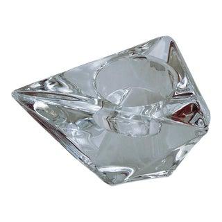 Orrefors Triangle Votive Martti Rytkönen Candleholder Crystal For Sale