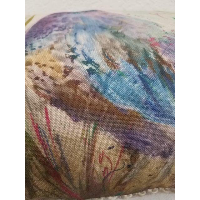 Textile Game Bird Lumbar Pillow For Sale - Image 7 of 13