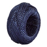 Image of Navy Rope Napkin Ring For Sale