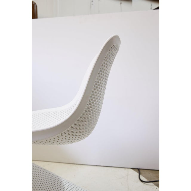 Modern Indoor/Outdoor Cantilever Chairs by Compamia, Set of 4 For Sale - Image 12 of 13