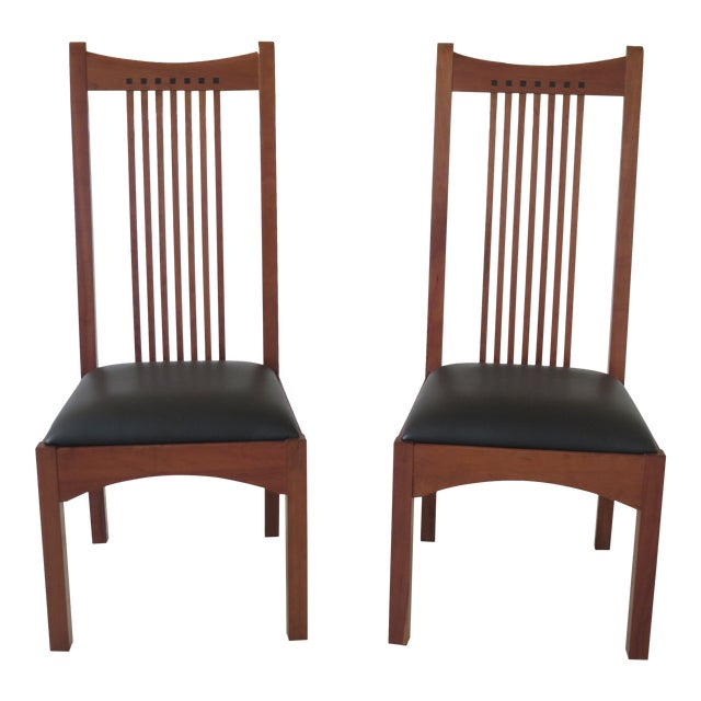 21st Century Stickley Collection Side Chairs- A Pair For Sale