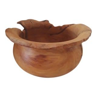 Eroded Teak Root Bowl For Sale