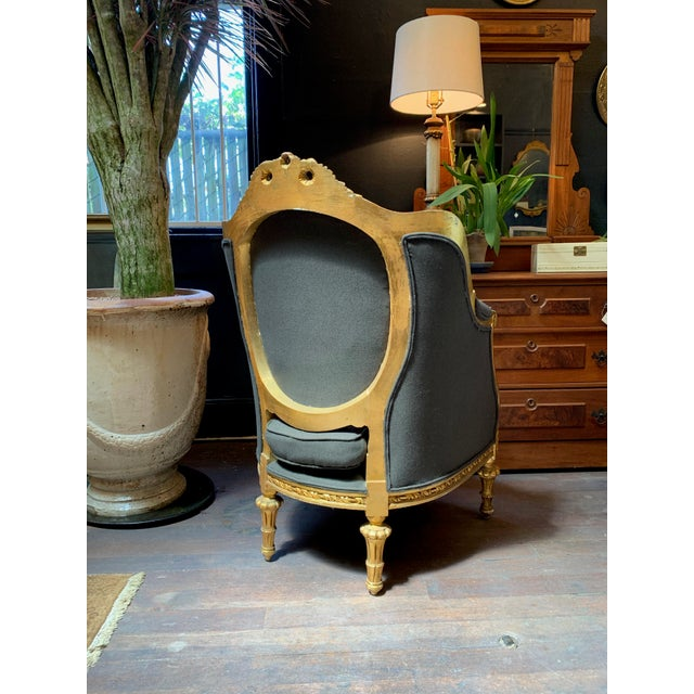 1900s Baroque Tufted Chair For Sale - Image 4 of 8