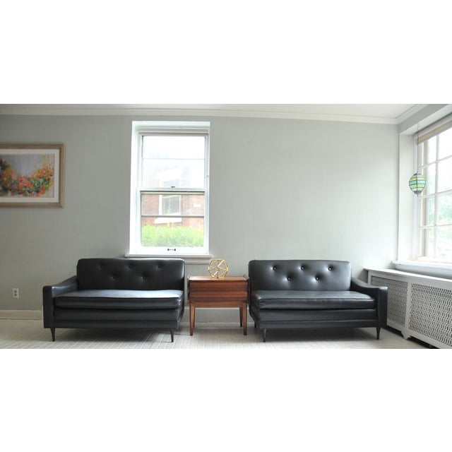 Mid-Century Modern Mid-Century Milo Baughman 2 Piece Sectional For Sale - Image 3 of 11