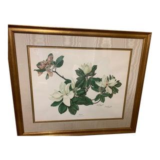 Vintage Maryrose Wampler Signed Lithograph For Sale