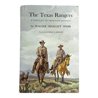 The Texas Rangers; A Century of Frontier Defense For Sale