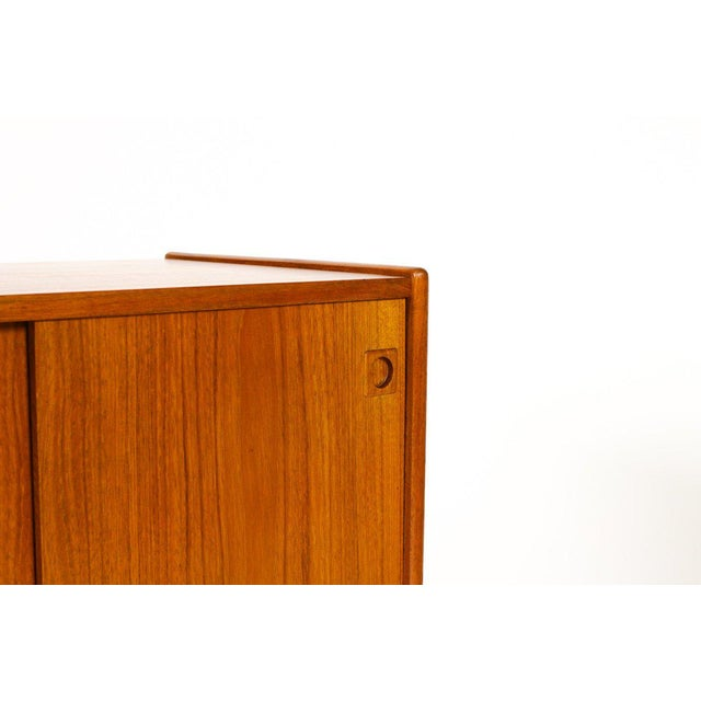 Brown 1960s Scandinavian Jens Ærthøj Teak Credenza/Sideboard For Sale - Image 8 of 11