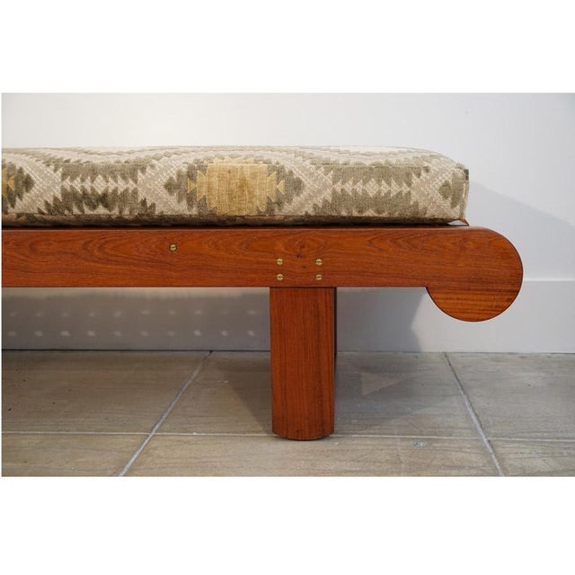 Mid-Century Modern Late 20th Century Kipp Stewart Bench For Sale - Image 3 of 10